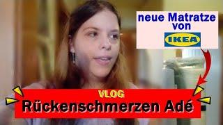 VLOG | ewig Rückenschmerzen... neue IKEA Matratze gekauft | erste Nacht mit HAVÖG Matratze | Update
