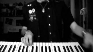 "Funker Vogt - ""Maschine Zeit"" Keyboard Cover"