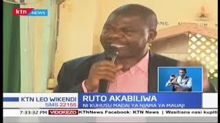 Wabunge wa ODM wamzomea Ruto