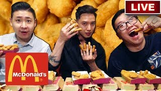 McDonald's Chicken Nugget Challenge w/ THIEN LE | AuzSOME Austin