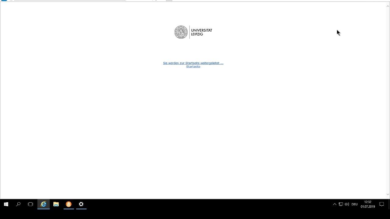 Einrichtung des Studiendatenmonitorings für Studierende der Uni Leipzig