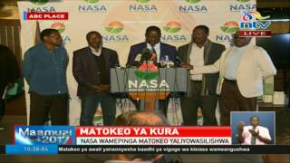 Raila says IEBC computer system hacked - VIDEO
