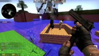 Counter-Strike Global Offensive: Zombie Escape - ze_Minecraft_Adventure_v1_3d (Stage 1) on GFL