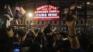 """""""The Cubs Win the World Series. Everyone Goes Nuts."""""""
