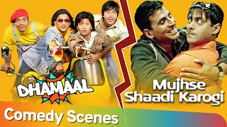 Best of Dhamaal and Mujhse Shaadi Karogi Comedy Scenes - Akshay Kumar | Arshad Warsi | Javed Jaffri - Download this Video in MP3, M4A, WEBM, MP4, 3GP