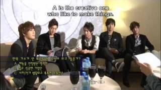 SS501 Making of Persona in Taipei (4/6) [Eng Sub]