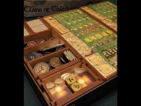 To the Table: Go7 Gaming: Clans of Caledonia Heritage Insert Review