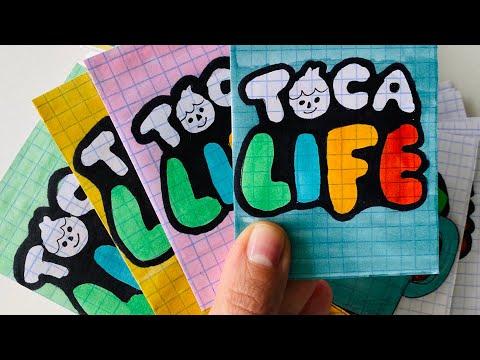 TOCA BOCA/ Распаковка бумажных сюрпризов 0610