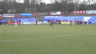 preview picture of video 'Ryan Edmunds Sending off in fixture Sheffield FC v Stafford Rangers'