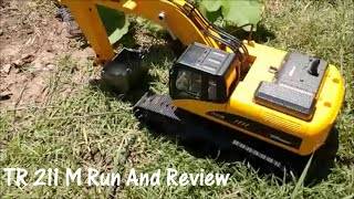 Run and Review of the Top Race TR211M RC Excavator