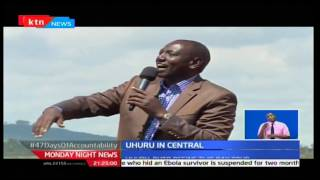 MondayNightNews: President Kenyatta discredits Raila's claim of Central people not voting in 2017