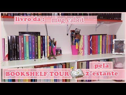 BOOKSHELF TOUR | 2ª PARTE |  Leticia Ferfer | Livro Livro Meu