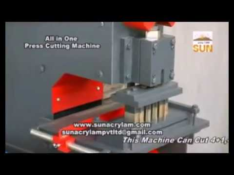 Switch Board Press Cutting Machines
