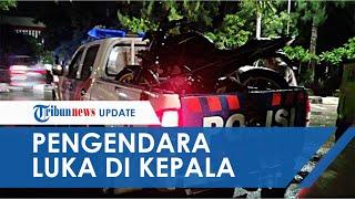 VIDEO Kecelakaan Flyover Manahan Solo, Pemotor Kritis karena Luka di Kepala