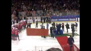 The Celebration! Moose Win!!
