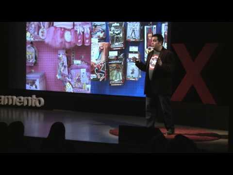 Girls can be their own superheroes | John Marcotte | TEDxSacramentoSalon