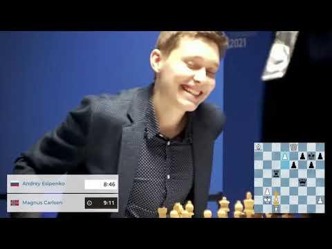 Донской гроссмейстер Андрей Есипенко обыграл чемпиона мира Магнуса Карлсена