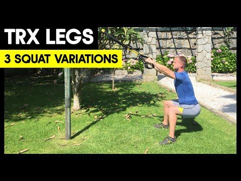 3 TRX Squat Variations - Beginners