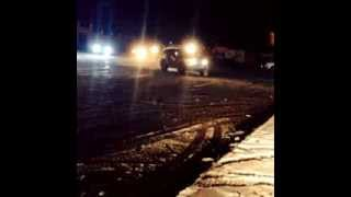 preview picture of video 'toyota fj cruiser drifting on snow baalbeck'