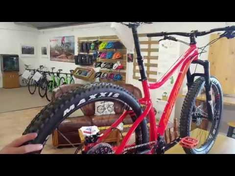 Cranked coffee and bike shop review of Merida Big Trail range