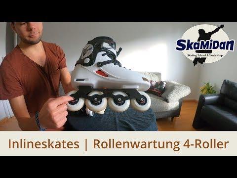 4 Rollen Skates: Rollen Wartung, rotieren, drehen oder wechseln? So ist es richtig! - Know-How #06/1