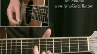 How To Play Joni Mitchell Carey (intro only)
