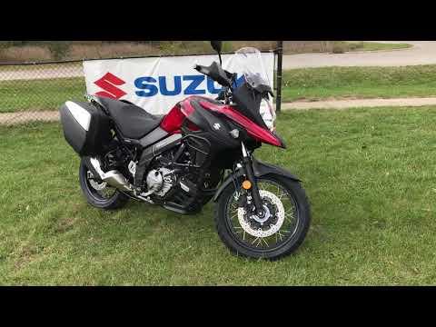 2019 Suzuki V-Strom 650XT Touring in Belleville, Michigan - Video 1
