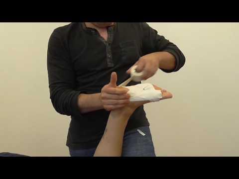 Wie den Zapfen auf dem Daumen der Fußsohle zu entgehen