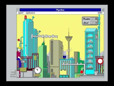 Old Gamez:Windows 3.1 games part 1.