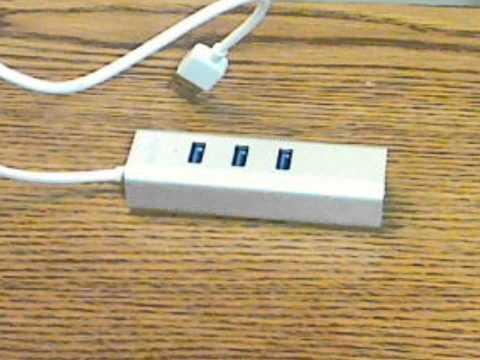 Keedox USB 3.0 Network Combo Hub