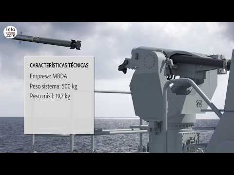 La Armada española busca integrar el sistema Mistral de MBDA en sus buques