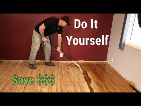 How To Sand & Refinish Hardwood Floors