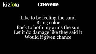 Chevelle - Mexican Sun (Lyric Video)