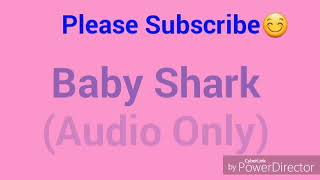 baby shark song mp3 download 320kbps