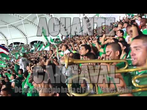 """La Instrumental / Frente Radical / Cali vs Nacional FINAL EN CALI 2013"" Barra: Frente Radical Verdiblanco • Club: Deportivo Cali"