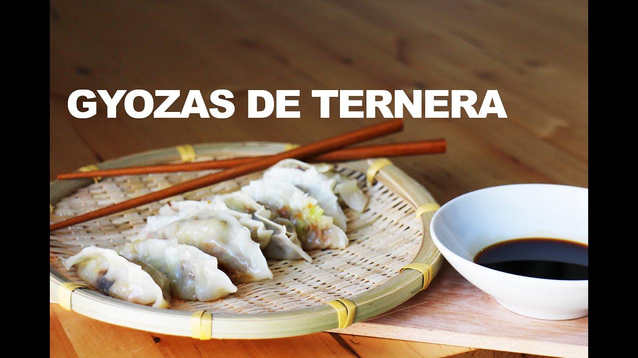GYOZAS DE TERNERA