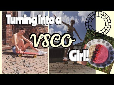 VSCO girl transformation! | IN 24 HOURS