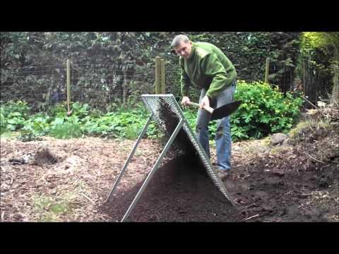 Tuinzeef voor compost