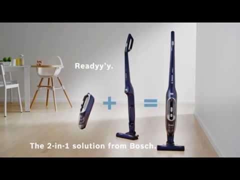 Sladdlös stick- eller handdammsugare  Bosch