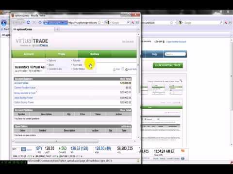Prekybos opcionų grynųjų pinigų sąskaita