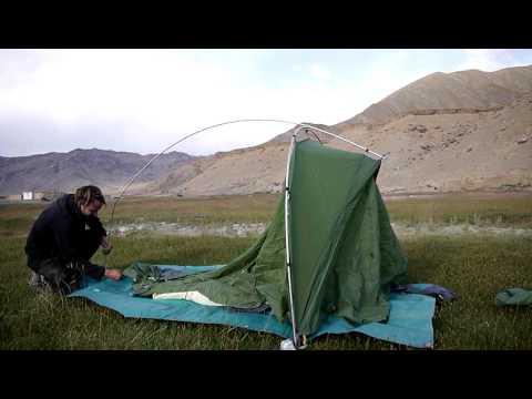 VAUDE- Taurus Ultralight XP- Mein Haus! _Aufbau am Pamir Highway // Tadschikistan