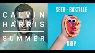 Gambar cover Calvin Harris VS Seeb ft. Bastille - Summer/Grip (Mashup)