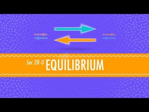 Equilibrium: Crash Course Chemistry #28