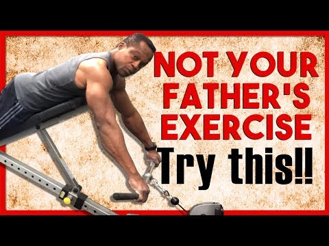 Getting a FULL BACK LOOK: Incline Cable Row, TRY THIS