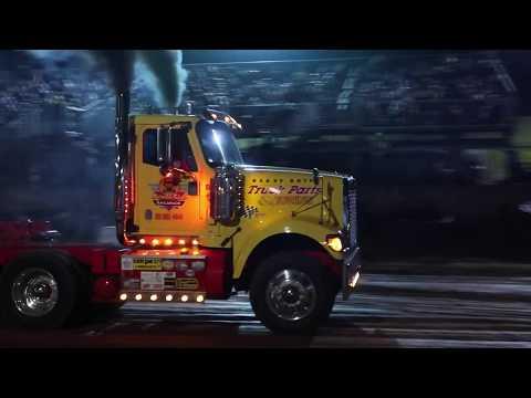Full Pull Dump Truck Pulls Garrett County Md - Playing