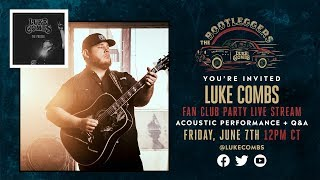 Luke Combs 2nd Annual Bootleggers Fan Club Party In Nashville, TN