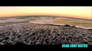 KSKB Surf Watch gopro Hero3+ DJI Phantom2 H3-3D FPV DRONE Aerial Footage Surfing