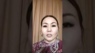 Девушка выступила против назарбаевских поправок