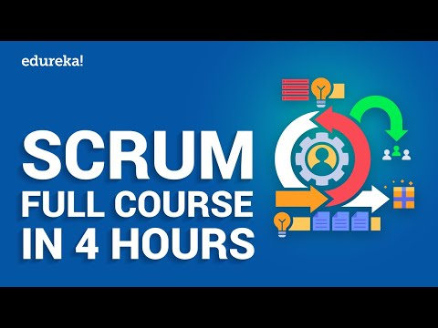 Agile Scrum Full Course in 4 Hours | Agile Scrum Tutorial For ...