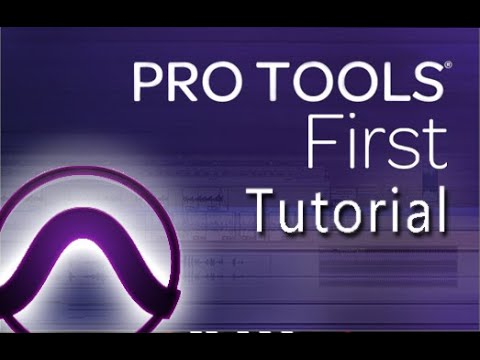 AVID Pro Tools First - Tutorial for Beginners in 12 MINUTES ...
